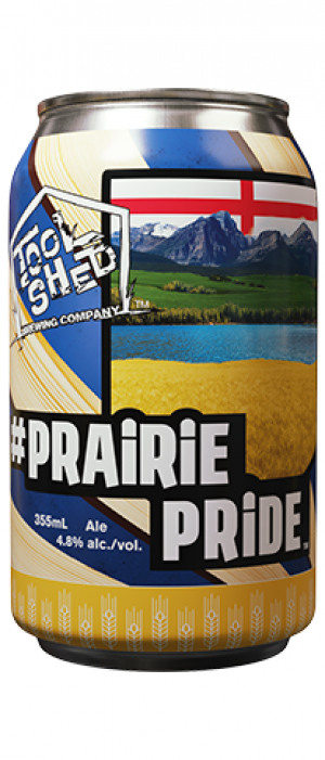 Prairie Pride by Tool Shed Brewing Company in Alberta, Canada