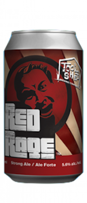 Red Rage by Tool Shed Brewing Company in Alberta, Canada
