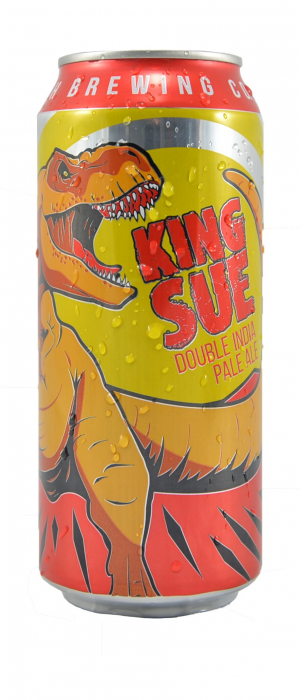 King Sue Double IPA by Toppling Goliath Brewing Company in Iowa, United States
