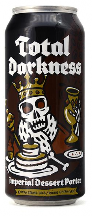Total Darkness Imperial Dessert Porter by New Level Brewing in Alberta, Canada