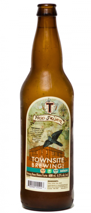 7800 Saison by Townsite Brewing in British Columbia, Canada