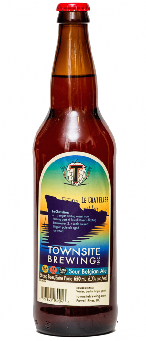 Le Chatelier by Townsite Brewing in British Columbia, Canada