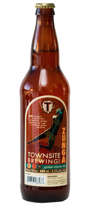 Zunga by Townsite Brewing in British Columbia, Canada