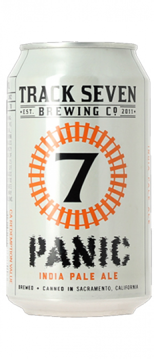 Panic IPA by Track 7 Brewing Company in California, United States