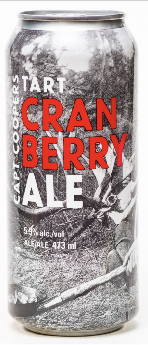 Tart Cranberry Ale by Trading Post Brewing in British Columbia, Canada