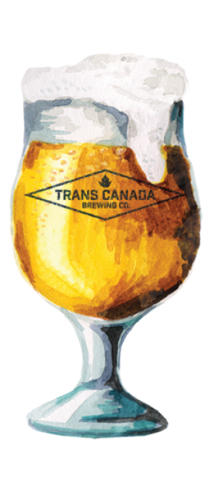 Belgian Table Beer by Trans Canada Brewing Co. in Manitoba, Canada
