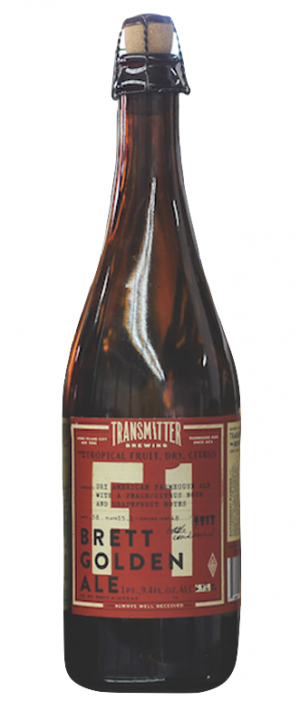 F1 Brett Golden Ale by Transmitter Brewing in New York, United States