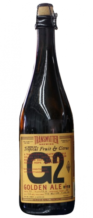 G2 Belgian Golden Ale by Transmitter Brewing in New York, United States