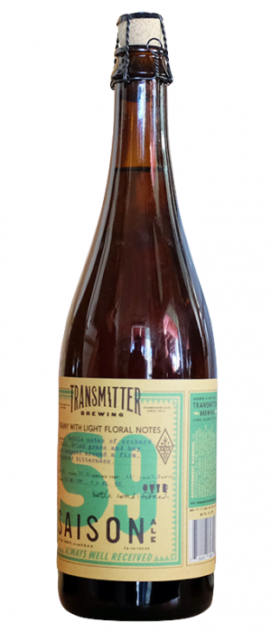 S9 Noble Saison by Transmitter Brewing in New York, United States