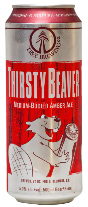 Thirsty Beaver by Tree Brewing Company in British Columbia, Canada