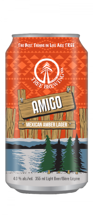 Amigo by Tree Brewing Company in British Columbia, Canada
