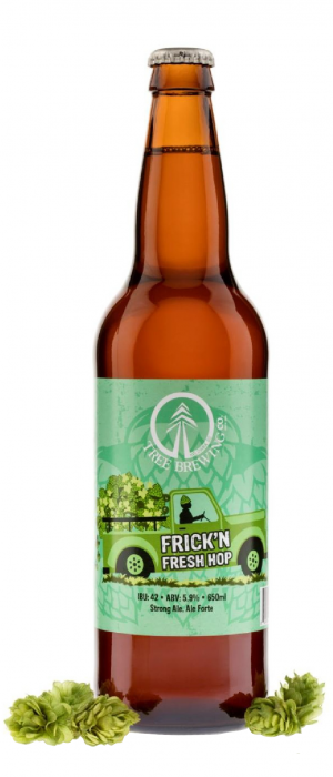 Frickn' Fresh Hop Ale by Tree Brewing Company in British Columbia, Canada