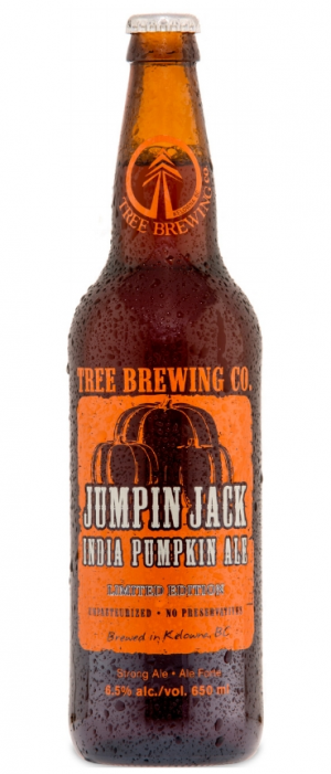 Jumpin Jack IPA by Tree Brewing Company in British Columbia, Canada
