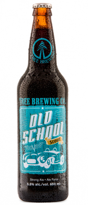 Old School Stout by Tree Brewing Company in British Columbia, Canada