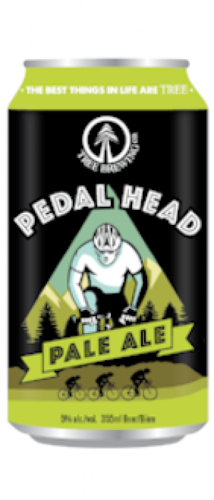 Pedal Head Pale Ale by Tree Brewing Company in British Columbia, Canada