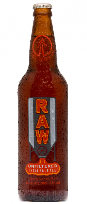 Raw IPA by Tree Brewing Company in British Columbia, Canada