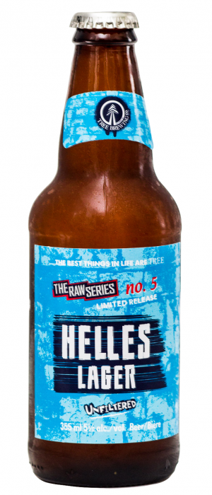 Raw Series # 5 - Helles Lager by Tree Brewing Company in British Columbia, Canada