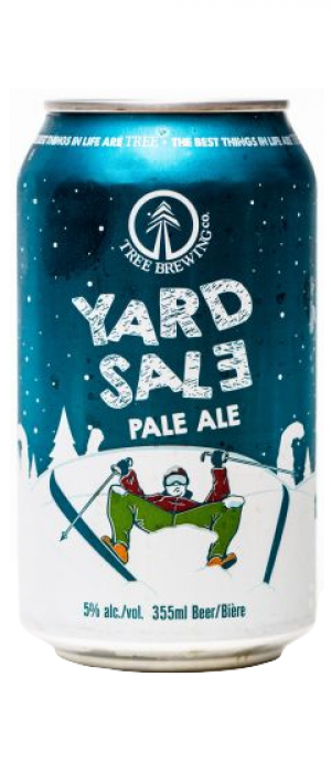 Yard Sale Pale Ale by Tree Brewing Company in British Columbia, Canada