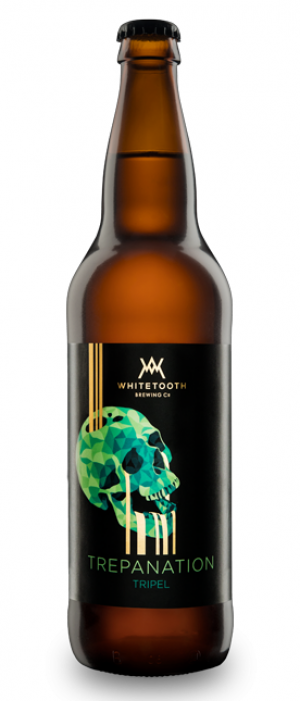 Trepanation Tripel by Whitetooth Brewing Co. in British Columbia, Canada
