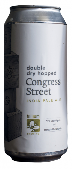 Double Dry Hopped Congress Street IPA by Trillium Brewing Company in Massachusetts, United States