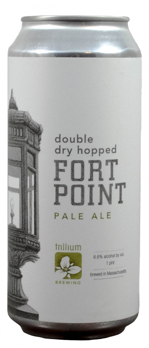Double Dry Hopped Fort Point Pale Ale by Trillium Brewing Company in Massachusetts, United States