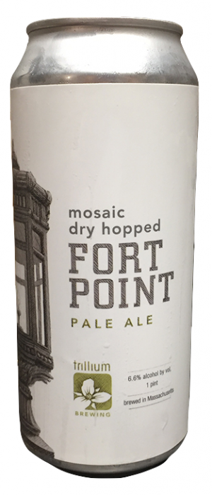 Mosaic Dry Hopped Fort Point Pale Ale by Trillium Brewing Company in Massachusetts, United States