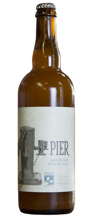 Pier American Wheat Ale by Trillium Brewing Company in Massachusetts, United States