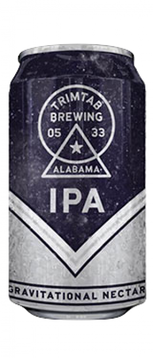 Trim Tab IPA by Trim Tab Brewing Company in Alabama, United States