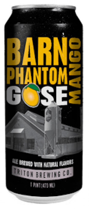 Barn Phantom Gose with Mango by Triton Brewing Company in Indiana, United States