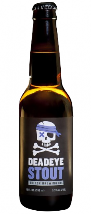 Deadeye Stout by Triton Brewing Company in Indiana, United States