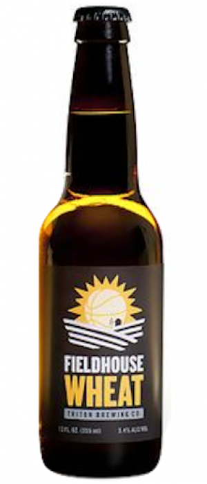 Fieldhouse Wheat by Triton Brewing Company in Indiana, United States