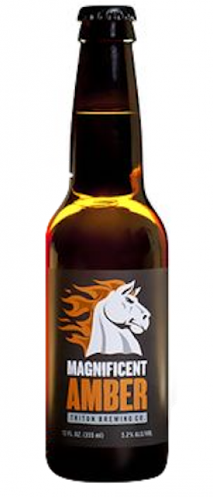 Magnificent Amber by Triton Brewing Company in Indiana, United States