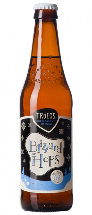 Blizzard of Hops Winter IPA by Tröegs Independent Brewing in Pennsylvania, United States