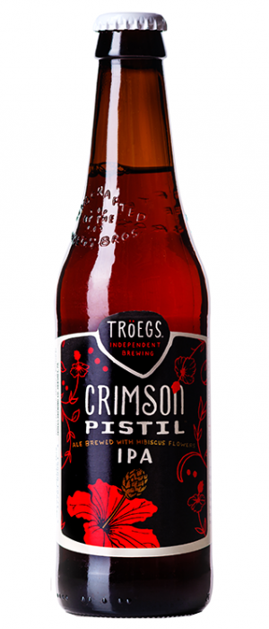 Crimson Pistil Hibiscus IPA by Tröegs Independent Brewing in Pennsylvania, United States
