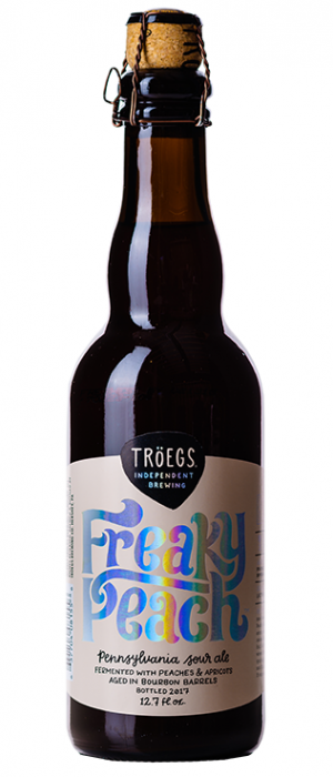 Freaky Peach by Tröegs Independent Brewing in Pennsylvania, United States