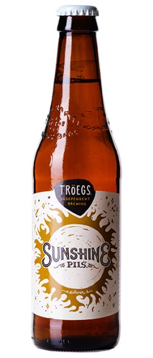 Sunshine Pils by Tröegs Independent Brewing in Pennsylvania, United States