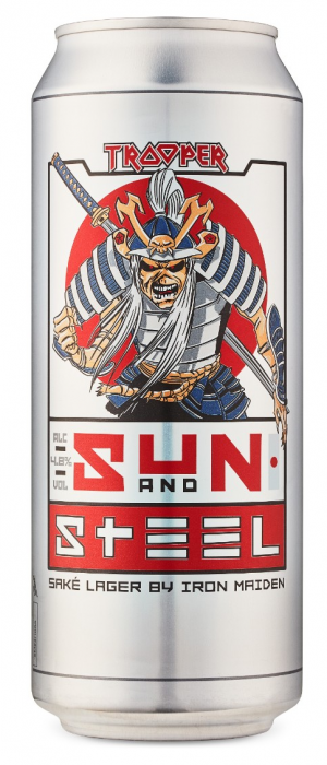 Trooper Sun and Steel by Robinsons Brewery in Suffolk - England, United Kingdom