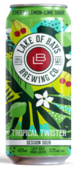 Tropical Twister Session Sour by Lake Of Bays Brewing Company in Ontario, Canada