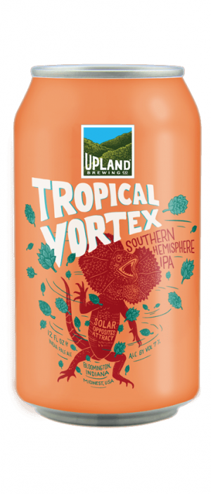 Tropical Vortex Southern Hemisphere IPA by Upland Brewing Company in Indiana, United States