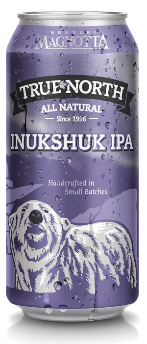 True North Inukshuk IPA by Magnotta Brewery in Ontario, Canada