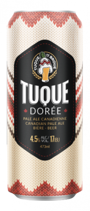 Canadian Pale Ale by Tuque de Broue in Ontario, Canada