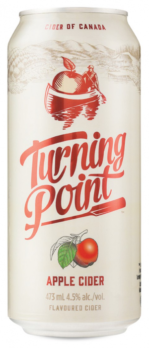 Turning Point Apple Cider by Turning Point Brewery in British Columbia, Canada