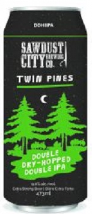 Twin Pines by Sawdust City Brewing Company in Ontario, Canada