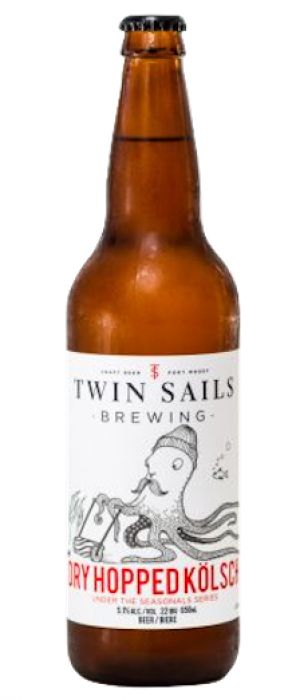 Dry Hopped Kölsch by Twin Sails Brewing in British Columbia, Canada