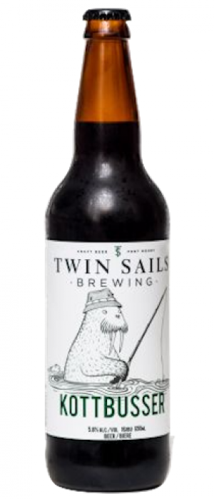 Kottbusser Brown Ale by Twin Sails Brewing in British Columbia, Canada