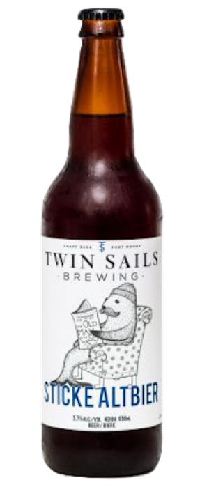 Sticke Altbier by Twin Sails Brewing in British Columbia, Canada