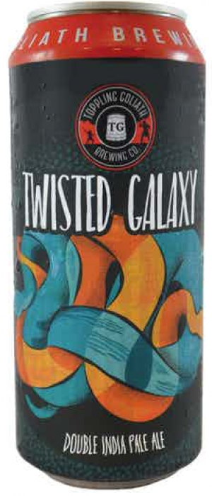 Twisted Galaxy Double IPA by Toppling Goliath Brewing Company in Iowa, United States