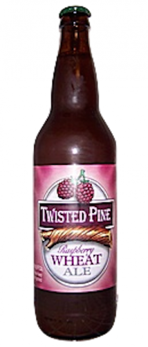 Raspberry Wheat Ale by Twisted Pine Brewing in Colorado, United States