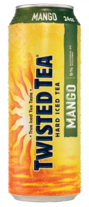 Twisted Tea Mango by Twisted Tea Brewing Company in Ohio, United States