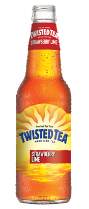 Twisted Tea Strawberry Lime by Twisted Tea Brewing Company in Ohio, United States